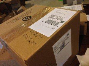 Amazon FBA Shipment example