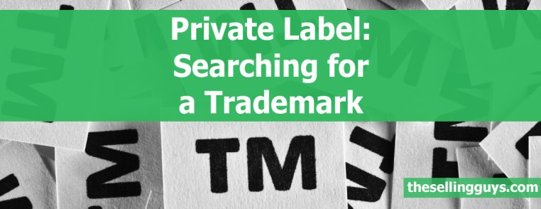 Amazon Private Label Searching for a Trademark The Selling Guys