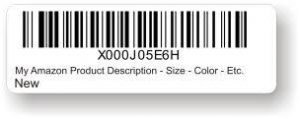 Amazon FNSKU Barcode