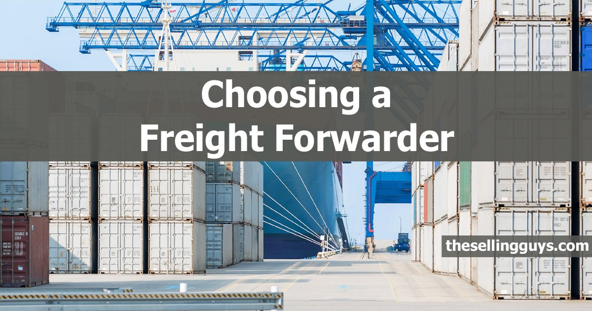 The best freight forwarders have these 3 qualities The Selling Guys