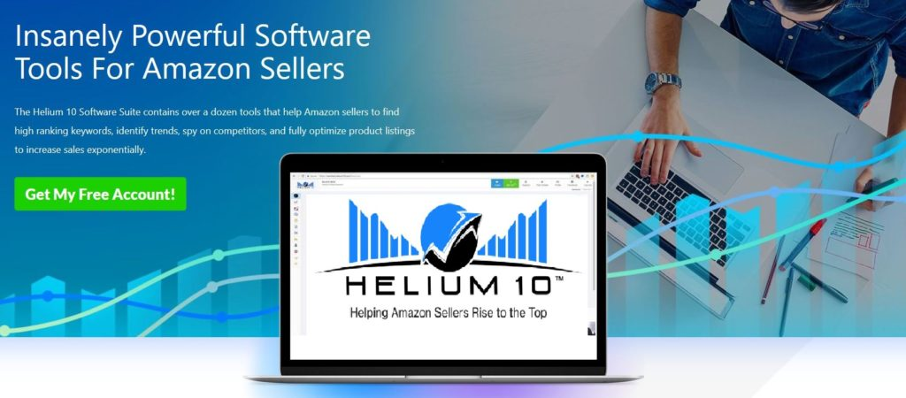 Helium 10 Tools for selling on Amazon