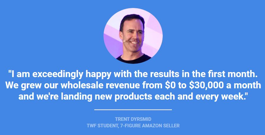 The Wholesale Formula Success Stories Trent Dyrsmid