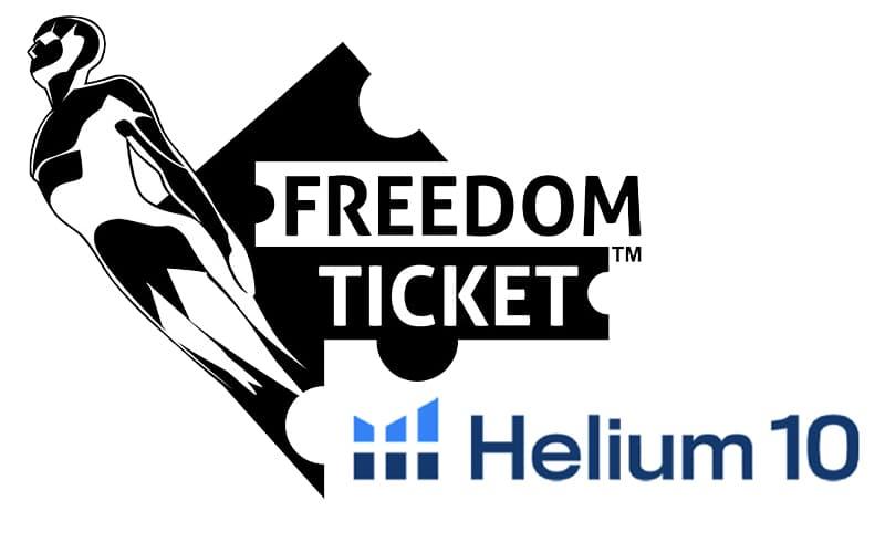 Freedom Ticket Amazon Course with Helium 10