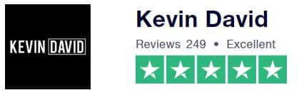 Kevin David Ninja Course Trustpilot Rating