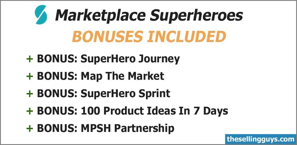 Marketplace Superheroes Training Bonuses