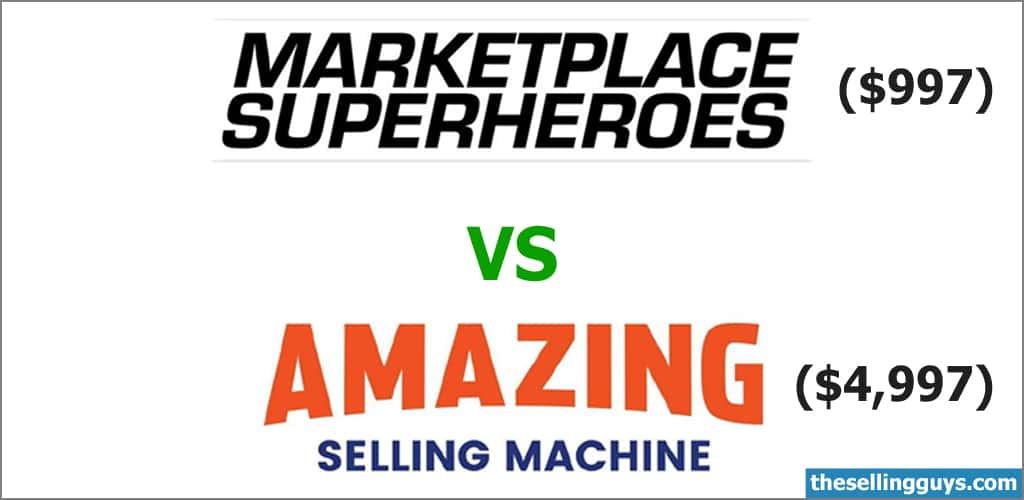 Marketplace Superheroes vs Amazing Selling Machine
