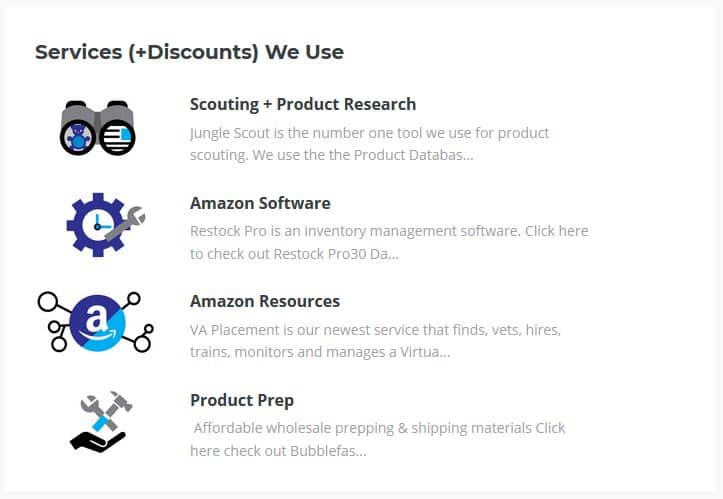 The Wholesale Formula Training Services and Discounts