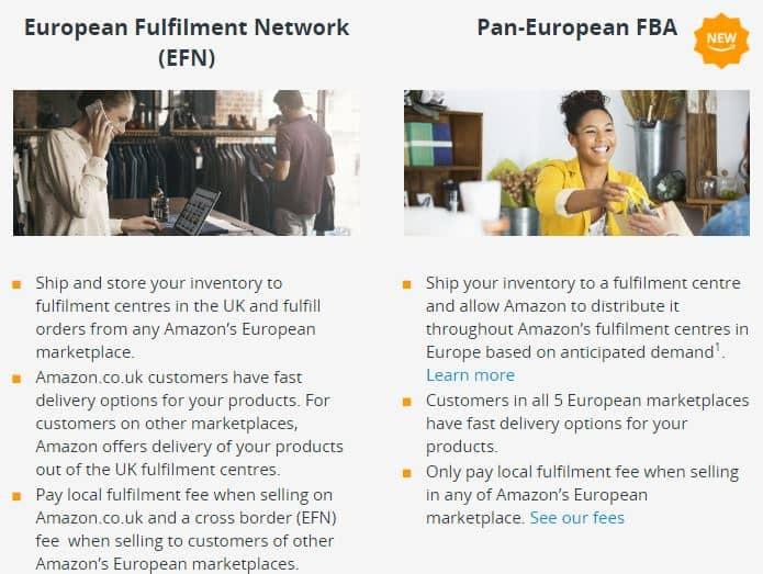 Amazon PanEU VS EFN