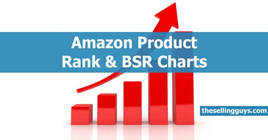 Amazon Best Sellers Rank (BSR) Charts