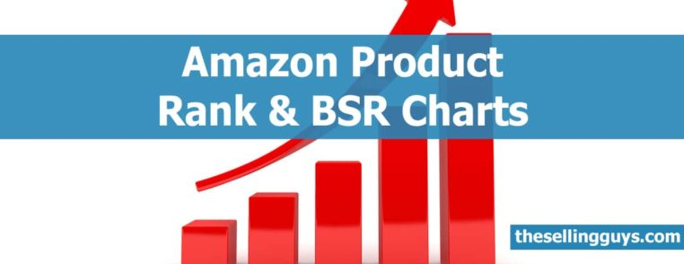 Amazon Best Sellers Rank (BSR) Charts for the US, UK, Canada and Europe