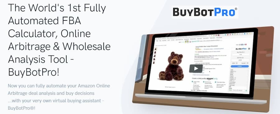 Buy Bot Pro Amazon Online Arbitrage Sourcing Tool