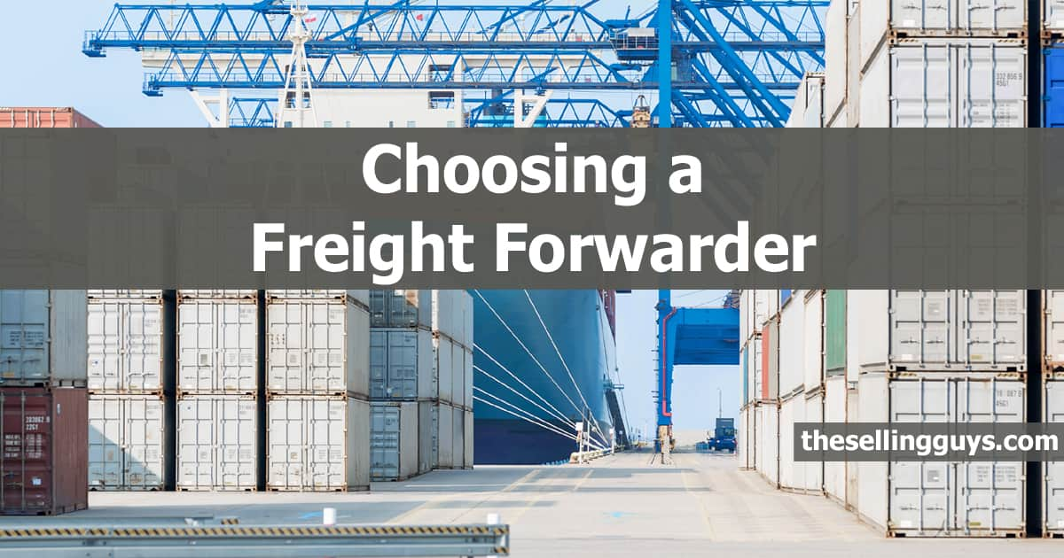 Finding the Best Freight Forwarder for Amazon FBA