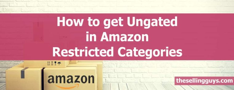 How to Get Ungated in Amazon Restricted Categories