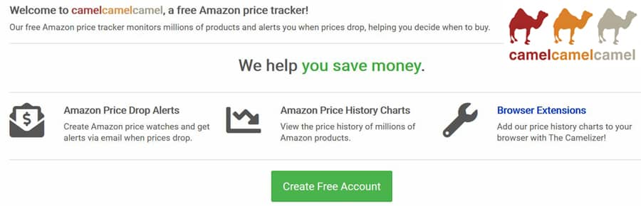 Camelcamelcamel Free Amazon Price Tracker