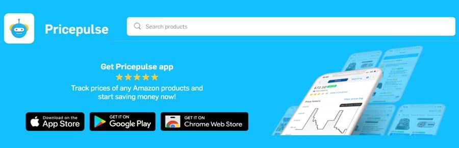 Pricepulse Amazon Price Tracker App
